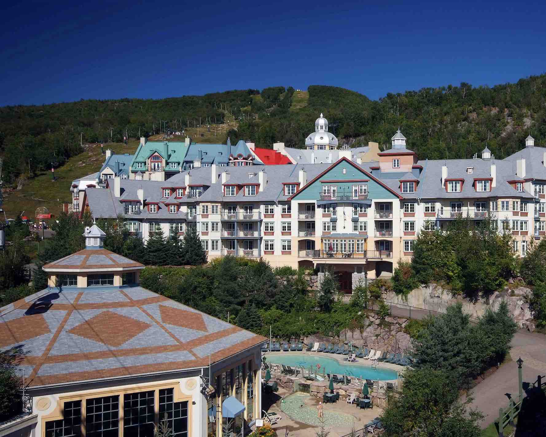 Mont-Tremblant hotels in the village