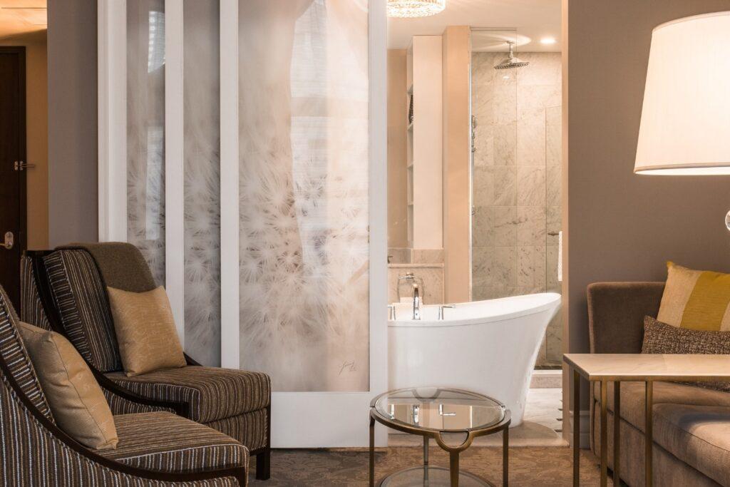Hotel Birks Montreal luxury hotels in montreal bathroom